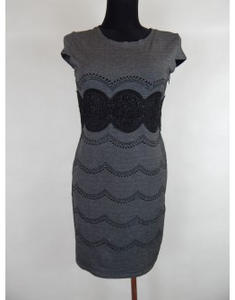 Сіра сукня